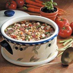 Basil Turkey Soup recipe