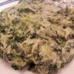 Swiss Spinach Casserole recipe