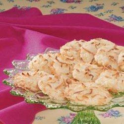 Orange Coconut Cookies recipe