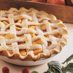 Peaches Pie recipe