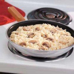 Swiss Mushroom Orzo recipe