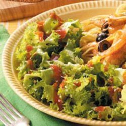 Mixed Greens with French Dressing recipe