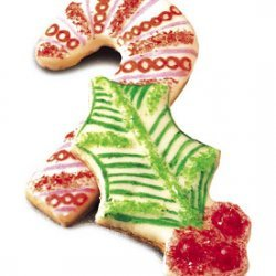Christmas Cutouts with Vanilla Icing recipe