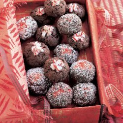 Chocolate Chip and Peppermint Crunch Crackles recipe