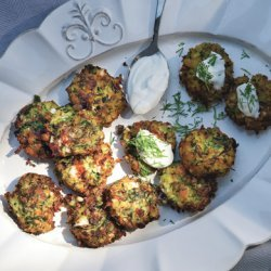 Zucchini Keftedes with Feta and Dill recipe