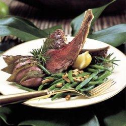 Rack of Lamb with Fresh Herbs and Garlic recipe