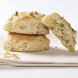 Ramp and Buttermilk Biscuits with Cracked Coriander recipe