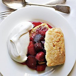 Rhubarb Shortcakes recipe