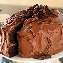 Devil's Food Cake with Chocolate-Orange Buttercream recipe