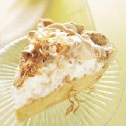 Lemon and Toasted-Coconut Meringue Pie recipe