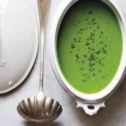 Minty Pea Soup recipe