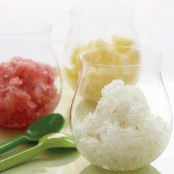 Fresh Fruit Ice Trio: Lime, Watermelon & Pineapple recipe