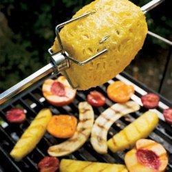 Grilled Fruit with Lemon Zabaglione recipe
