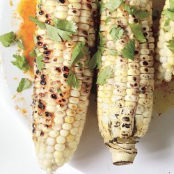 Grilled Corn with Hoisin-Orange Butter recipe