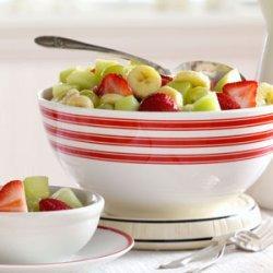 Glazed Fruit Medley recipe