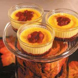 Cranberry Creme Brulee recipe