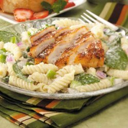 Blackened Fish Salad recipe