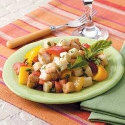 Crispy Crouton Salad recipe