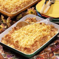 Cheesy Noodle Casserole recipe