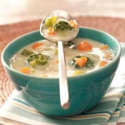 Carrot Broccoli Soup recipe