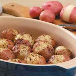 Seasoned Red Potatoes recipe