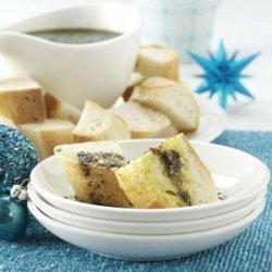 Pesto Dipping Oil recipe