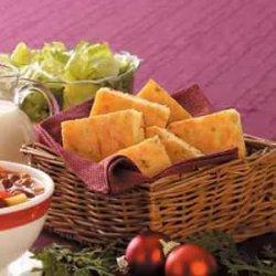 Chive Corn Bread recipe