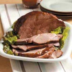 Teriyaki Pork Roast recipe