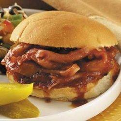 Barbecue Ham Sandwiches recipe
