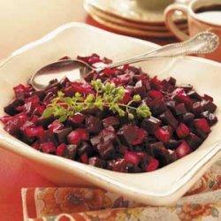 Onion Beet Salad recipe