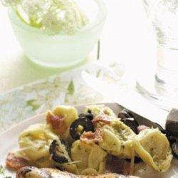 Pesto Tortellini Salad recipe