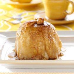 Apple Dumplings with Sauce recipe