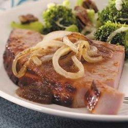 Harvest Ham Steak recipe