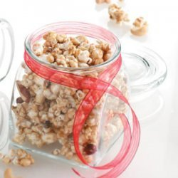 Caramel Corn with Nuts recipe