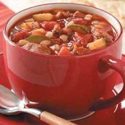 Zucchini Sausage Soup recipe