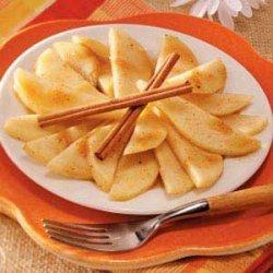 Spiced Pear Dessert recipe