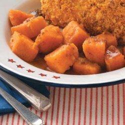 Caramel Sweet Potatoes recipe