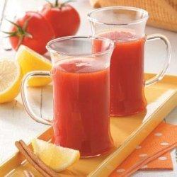 Hot Tomato Drink recipe