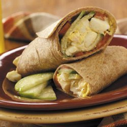 Egg Salad Burritos recipe