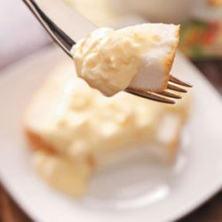 Cake with Pineapple Pudding recipe