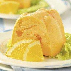 Creamy Orange Gelatin recipe