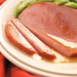 Ginger Ham Steaks recipe