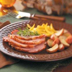 Champagne Baked Ham recipe