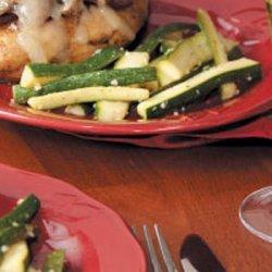 Sauteed Zucchini Strips recipe