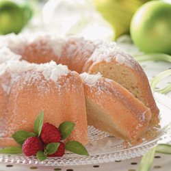 Easy Coconut Pound Cake recipe