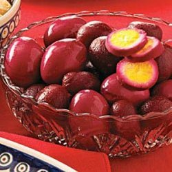 Pickled Eggs with Beets recipe