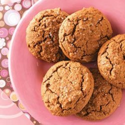 Gingerbread Muffin Tops recipe