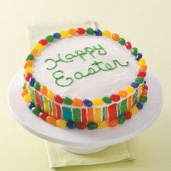 Colorful Easter Cake recipe