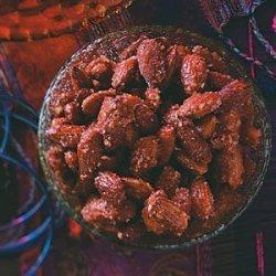 Honey & Spice Roasted Almonds recipe