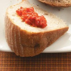 Roasted Red Pepper Spread recipe